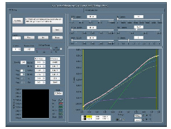 IVT UI showing the forward bias fitting.
